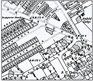 ordinary landscapes special places House Styles 1890 1890 os map